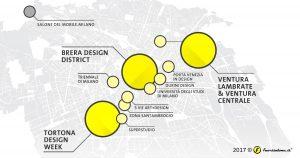 Mappa Fuorisalone 2017 Aldo Palma
